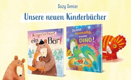 Suzy Senior - neue Kinderbücher