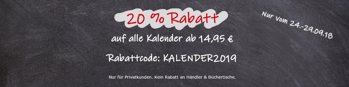 Rabattaktion Kalender